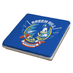 Sonic 5K - Coasters - Coasters - RIPT Apparel