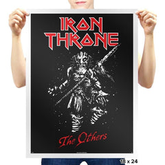 Iron Throne - Heavy Metal Machine - Prints - Posters - RIPT Apparel