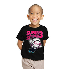 Super Spider Bros 3 - Youth - T-Shirts - RIPT Apparel