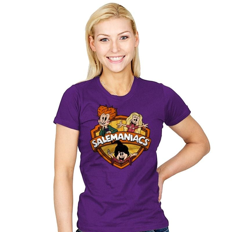 Salemaniacs! - Womens - T-Shirts - RIPT Apparel