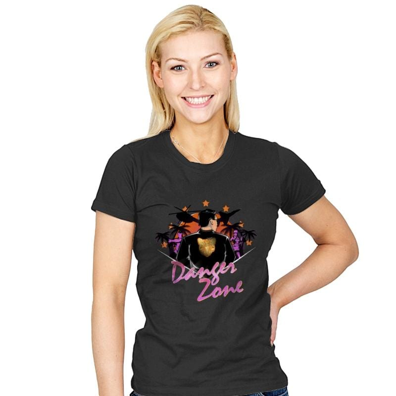 Drive to the Danger Zone! - Best Seller - Womens - T-Shirts - RIPT Apparel