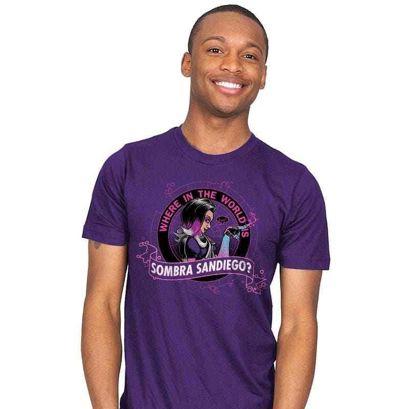 Where in the World is Sombra Sandiego? - Mens - T-Shirts - RIPT Apparel