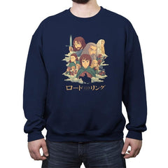 The Journey - Crew Neck Sweatshirt - Crew Neck Sweatshirt - RIPT Apparel