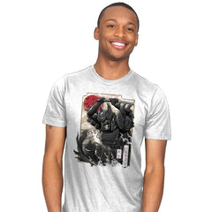 Dark Samurai Knight - Mens - T-Shirts - RIPT Apparel