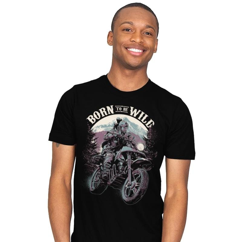 Born To Be Wild - Mens - T-Shirts - RIPT Apparel