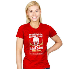 Pennywise's Balloon Shop - Womens - T-Shirts - RIPT Apparel