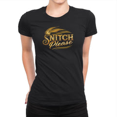 Snitch Please Exclusive - Womens Premium - T-Shirts - RIPT Apparel