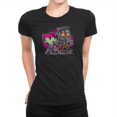 Invaders of The Galaxy Part 2 Exclusive - Awesome Mixtees - Womens Premium - T-Shirts - RIPT Apparel