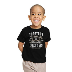 Toretto's Customs Exclusive - Youth - T-Shirts - RIPT Apparel