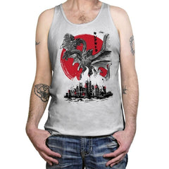 The King of Terror Attack - Tanktop - Tanktop - RIPT Apparel