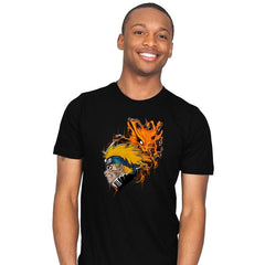 Demon Fox - Graffitees - Mens - T-Shirts - RIPT Apparel