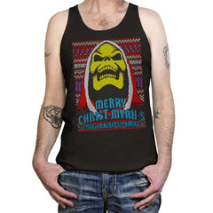 Merry Christ-Myah-s! - Ugly Holiday - Tanktop - Tanktop - RIPT Apparel