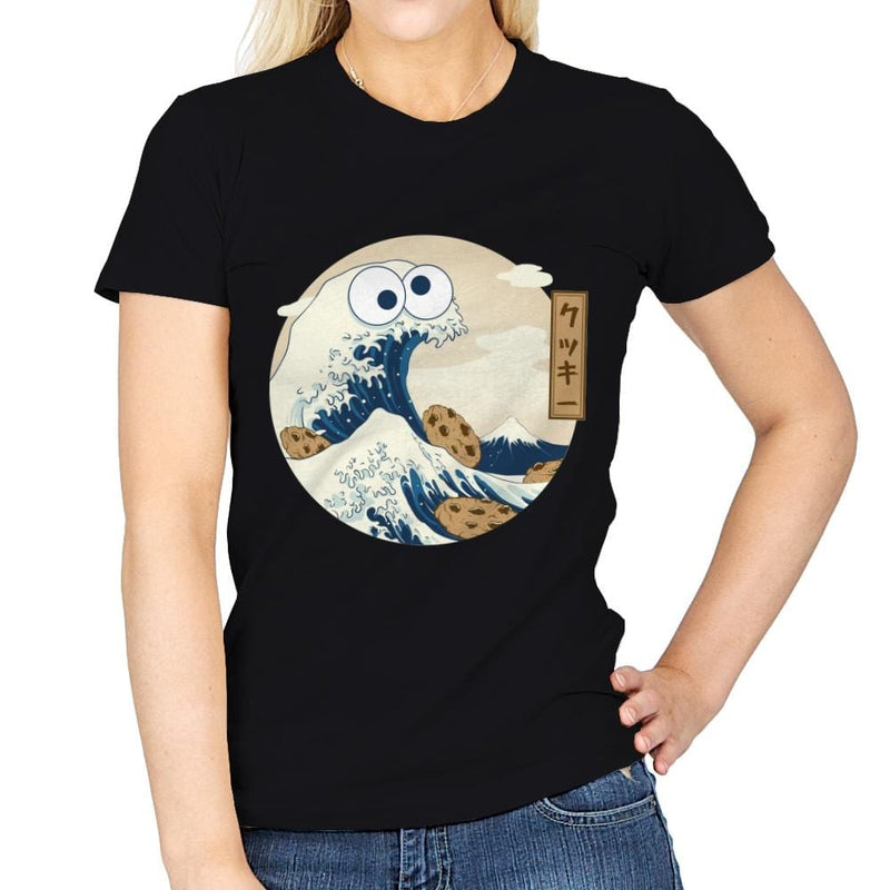 Cookiegana Wave - Womens - T-Shirts - RIPT Apparel