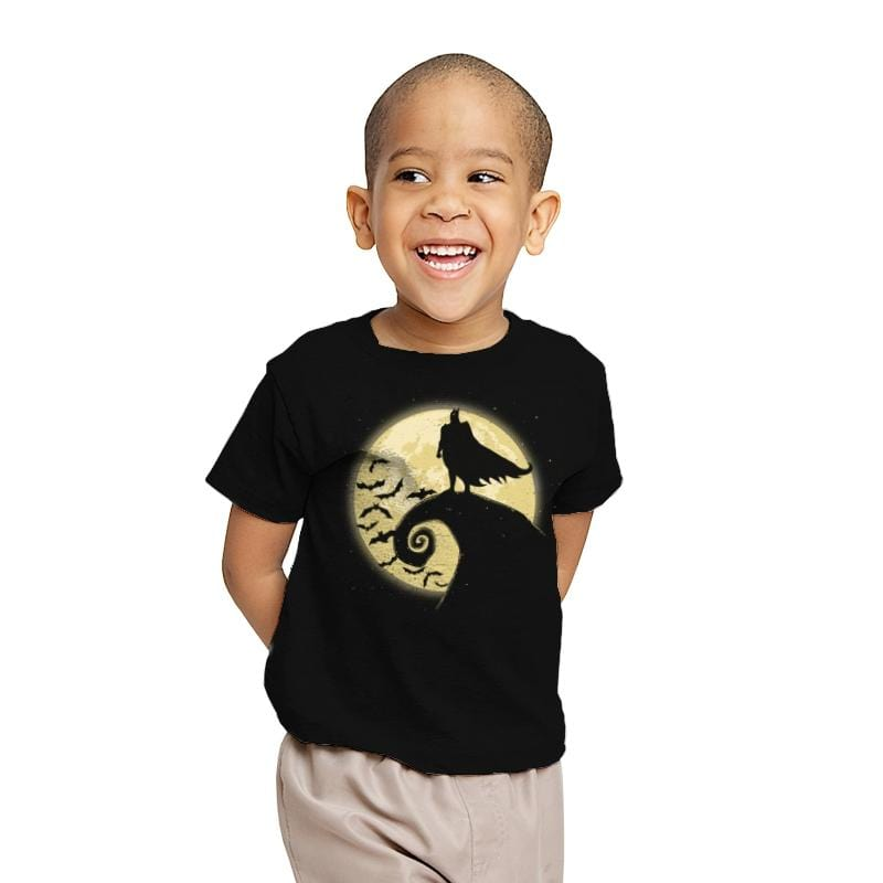 Nightmare Before The Bat - Youth - T-Shirts - RIPT Apparel