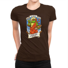 Our Saint of Cool But Rude Exclusive - Womens Premium - T-Shirts - RIPT Apparel