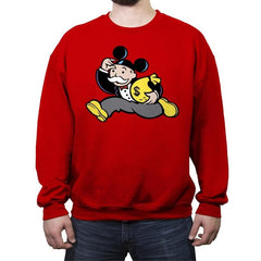 Mousopoly - Crew Neck Sweatshirt - Crew Neck Sweatshirt - RIPT Apparel