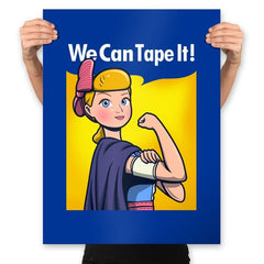 We can tape it! - Prints - Posters - RIPT Apparel
