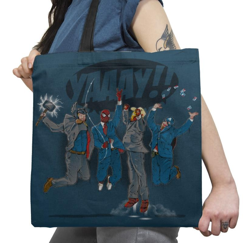 News Team Assemble Exclusive - Tote Bag - Tote Bag - RIPT Apparel