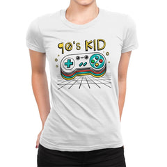 Ultimate 90's Kid - Womens Premium - T-Shirts - RIPT Apparel