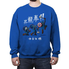 Cap Shoryuken - Anytime - Crew Neck Sweatshirt - Crew Neck Sweatshirt - RIPT Apparel