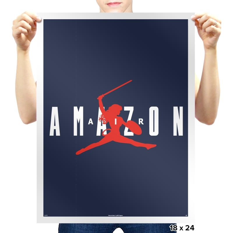 Air Amazon - Prints - Posters - RIPT Apparel