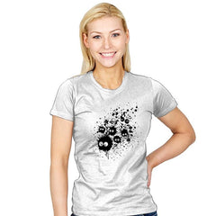 Susuwatari Ink - Sumi Ink Wars - Womens - T-Shirts - RIPT Apparel