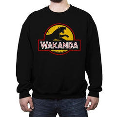 Wakanda Park - Crew Neck Sweatshirt - Crew Neck Sweatshirt - RIPT Apparel
