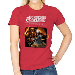 Dungeons & Dwarves - Womens - T-Shirts - RIPT Apparel