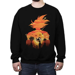 Beautiful Sunset - Crew Neck Sweatshirt - Crew Neck Sweatshirt - RIPT Apparel