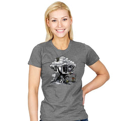 African Tree House - Womens - T-Shirts - RIPT Apparel