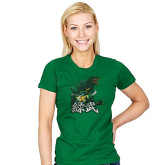 Green Warrior - Womens - T-Shirts - RIPT Apparel