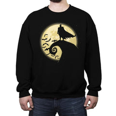 Nightmare Before The Bat - Crew Neck Sweatshirt - Crew Neck Sweatshirt - RIPT Apparel