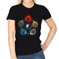 Dice Elements - Womens - T-Shirts - RIPT Apparel