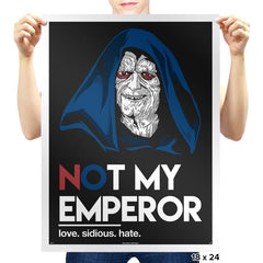 Not my Emperor - Prints - Posters - RIPT Apparel