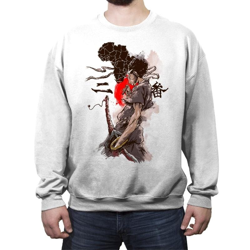 From Africa to Japan - Crew Neck Sweatshirt - Crew Neck Sweatshirt - RIPT Apparel