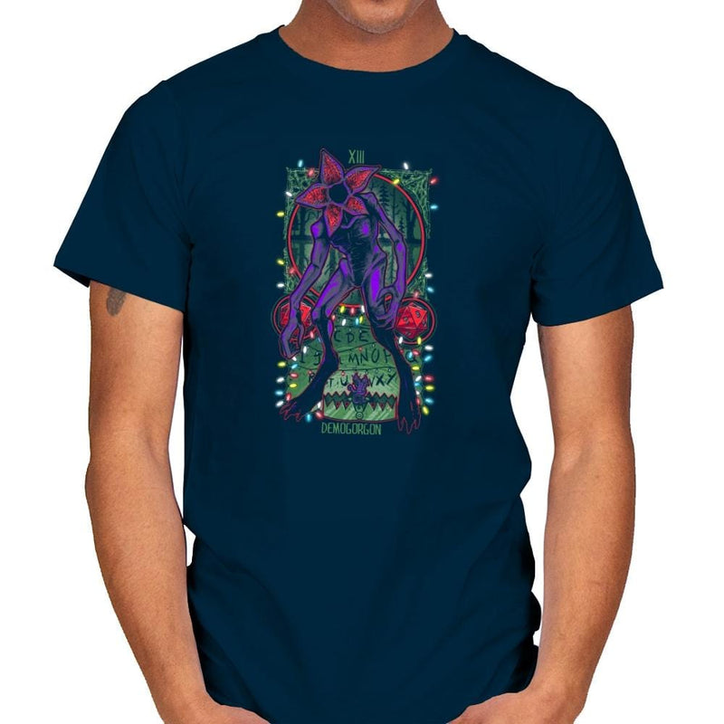 The Demogorgan Tarot Card Exclusive - Mens - T-Shirts - RIPT Apparel