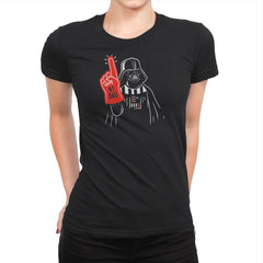 Number 1 Dad - Womens Premium - T-Shirts - RIPT Apparel