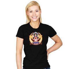 Wonder Moon  - Womens - T-Shirts - RIPT Apparel