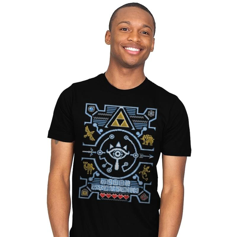 Sheikah - Ugly Holiday - Mens - T-Shirts - RIPT Apparel