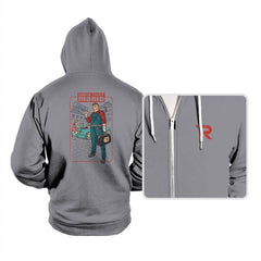 Grand Theft Mario: Mushroom City - Hoodies - Hoodies - RIPT Apparel