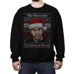 Christmas Break Up - Crew Neck Sweatshirt - Crew Neck Sweatshirt - RIPT Apparel
