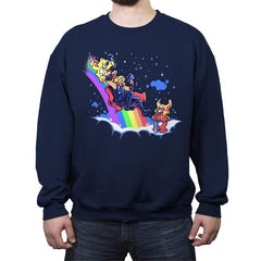 The Carefrost Bridge - Crew Neck Sweatshirt - Crew Neck Sweatshirt - RIPT Apparel