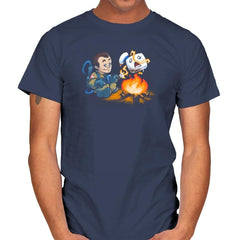 Stay-Burnt, Marshmallow Man Exclusive - Mens - T-Shirts - RIPT Apparel