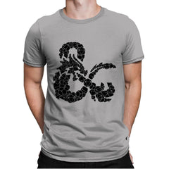 Dice & Dragons - Mens Premium - T-Shirts - RIPT Apparel