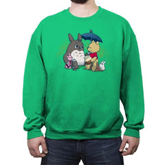 Forest Friends - Crew Neck Sweatshirt - Crew Neck Sweatshirt - RIPT Apparel