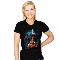 Link Wars Reprint - Womens - T-Shirts - RIPT Apparel