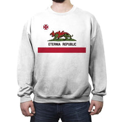 ETERNIA REPUBLIC - Crew Neck Sweatshirt - Crew Neck Sweatshirt - RIPT Apparel