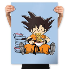 Saiyan Breakfast - Prints - Posters - RIPT Apparel