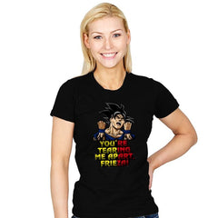 You're Tearing Me Apart, Frieza! - Womens - T-Shirts - RIPT Apparel