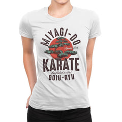 Miyago-Do Karate - Womens Premium - T-Shirts - RIPT Apparel